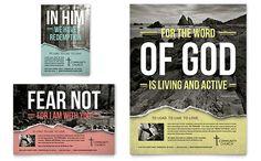 Bible Church - Flyer & Ad Template Design