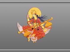 God Saraswati Devi Wallpaper Free Download