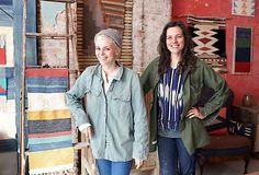 Ry Scruggs and Nadia Yaron, the Brooklyn furniture makers behind Nightwood.