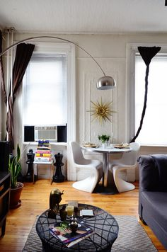 Olga Naiman Williamsburg Railroad Apartment Nyc Design Sponge