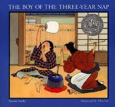 The Boy of the Three-Year Nap By: Dianne Snyder Illustrated By: Allen Say I teach children's literature at the university level. Trickster Tales, Japanese American, Children's Picture Books, Children's Literature, Book Club Books, Book Clubs, Book Art, Japanese Culture, Childrens Books