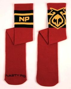 Nasty Pig Systematic Sport Socks - Red Nasty Pig. $15.95
