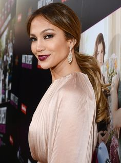 Jennifer Lopez's Best Hairstyles Ever: Low Pony