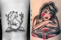 Books and ink just go together.