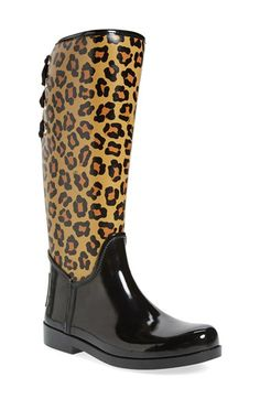 COACH 'Tristee' Waterproof Rain Boot (Women) available at #Nordstrom