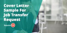 How to write a cover letter sample for a job transfer request. Learn how to ask…