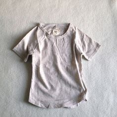 Image of Nico Nico Santos Speckled Tee in Pacific Blue or Cream Shell