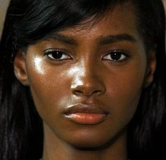 (g)irl — furples: Tami Williams @ Jil Sander Fall 2015 My Beauty, Hair Beauty, Black Beauty, Afro, Girls Lips, Dark Skin Girls, Natural Wedding Makeup, Beautiful Black Girl, Black Girl Aesthetic