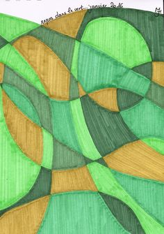 """This one is called """"the green break"""" .... It is very soothing for me ... Do you like it ? https://www.redbubble.com/fr/people/isayabelle/works/25777575-green-vert?asc=u&utm_content=bufferfb770&utm_medium=social&utm_source=pinterest.com&utm_campaign=buffer  www.isayabelle.com #isayabelle.com #mixedmediaart #selflove #manifesting #flowchange #healingart #creativewomen #lovequotes #ilovestationery #guidedlife #lovecolor #colorpalette #summerpalettechallenge"""