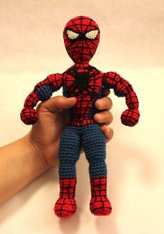 Free Spiderman Amigurumi Crochet Pattern : Knitting and Crochet on Pinterest 93 Pins