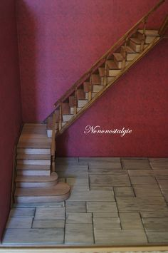 how to: miniature stairs