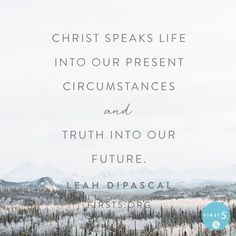 Every day we have an opportunity to reach higher and see Jesus clearer as we pursue a deeper relationship with Him. Will we choose to respond to His call with a right attitude? Are we willing to repent of our wrong ways and press forward in a lifestyle that is honoring to Him? Leah DiPascal #First5 @First5App