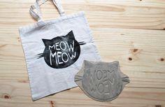 JONA - tote bag bestempelen  DIY-pakket van TODIY! Reusable Tote Bags, Van, Vans