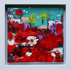 Love and RomanceThat ... White Box Frame, Irish Art, Acrylic Art, Box Frames, Expressionism, Watercolor Art, Original Art, Romance, Paintings