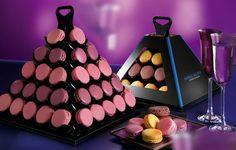 Pyramide de macarons  Fabrice Gillotte