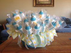 Marshmallow Baby Bottles Basket