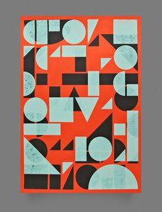 Pósters donde la tipografía es la protagonista Fuentes que tienen el objetivo atraer en segundos