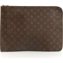 LOUIS VUITTON Poche Documents Monogram Canvas Clutch Bag at 588.00 SGD from Silkrouter