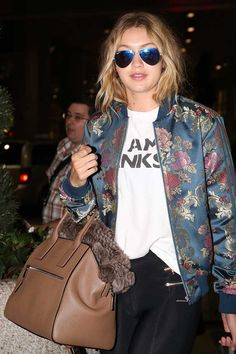 El estilo de #GigiHadid © Getty Images/ Gtres Online/ Cordon Press