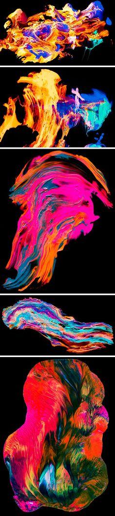 5 texturas abstractas de pintura