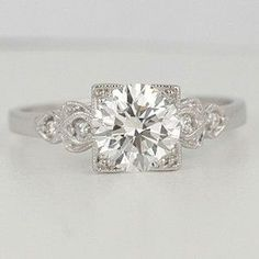 The most beautiful vintage engagement ring I have ever seen!
