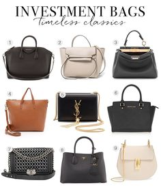 Bags Worth The Investment