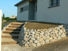 Rock Garden Design, Boarders, Outdoor Gardens, Architecture Design, Outdoor Living, Deck, Retaining Walls, Gardening, Kitchen