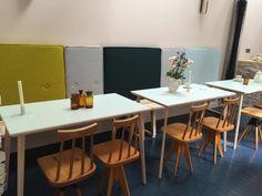 Tufted Booth Hotel Henriette Paris breakfast room/restaurant   Remodelista