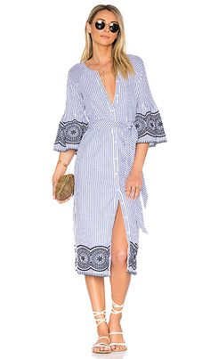 Shop for Tularosa x REVOLVE Halo Midi Dress in Navy Pinstripe at REVOLVE. Free 2-3 day shipping and returns, 30 day price match guarantee.