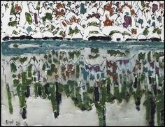View Reflections I, Boston Corners, NY / Slate Hill and Green Fields (verso) By David B. watercolour on paper; Access more artwork lots and estimated & realized auction prices on MutualArt. David Milne, Green Fields, Traditional Landscape, Creative Colour, Modern Landscaping, Canadian Artists, Watercolor Techniques, Abstract Landscape, Lovers Art