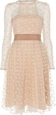 Alice By Temperley Beige Celia Dress