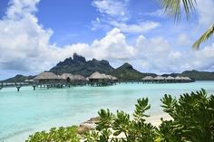 Bora Bora must be one of the most celebrated islands in the world: a place that embodies many people's ideal of a tropical paradise. Belize Resorts, Florida Resorts, All Inclusive Resorts, Beach Resorts, Hotels And Resorts, Florida Trips, Bora Bora, Tahiti, Charleston Hotels