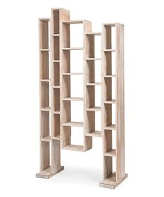 Sands of Time White Great Wall Bookcase #zulily #zulilyfinds