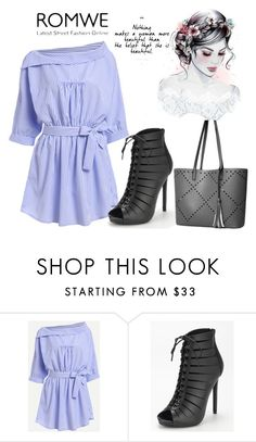 """5/9 romwe"" by fatimka-becirovic ❤ liked on Polyvore"