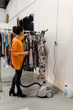 #steamaster #steamer #backstage #photo #photosession #session #ironing #iron #studio #fashion #clothing