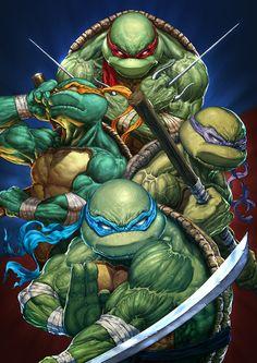 Cartoons And Heroes — redskullspage: Teenage Mutant Ninja Turtle. Ninja Turtles Art, Teenage Mutant Ninja Turtles, Teenage Ninja Turtles, Tmnt, Hero Marvel, Comic Anime, Univers Dc, Gi Joe, Thundercats