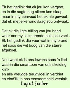 Love Words, Beautiful Words, Lyric Quotes, Lyrics, Favorite Quotes, Best Quotes, Cute Writing, Afrikaanse Quotes, Word Up