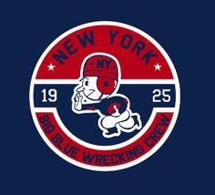 #NYG NY Football Giants - Big Blue Wrecking Crew