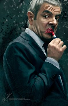Johnny English by AngelaBermudez on DeviantArt Cinema Movies, Movie Tv, Series Movies, Movies And Tv Shows, Johnny English Reborn, Mr Bean Funny, Blackadder, Funny Moments, Funny Pictures