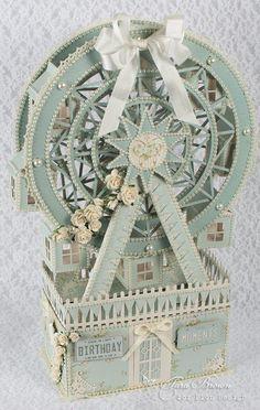 ferris-wheel_0172, 3D paper project