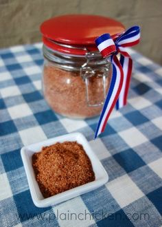 Homemade BBQ Seasoning  made this and put on hot pork rinds ....yummy