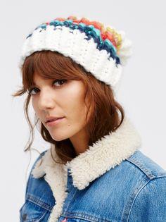 a3ccf606 Winter Essentials, Over The Rainbow, Winter Accessories, Knit Beanie, Winter  Wear,