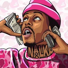 Stream Trap Mack (Limited time for it being on) by TraitBaits from desktop or your mobile device Arte Do Hip Hop, Hip Hop Art, Dope Cartoons, Dope Cartoon Art, Arte Dope, Dope Art, Trap Art, Stoner Art, Rapper Art