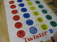 Volunteers with the American #Jewish Society for Service hosted game day for our summer-camp kids. Twister was a hit! www.svdplou.org