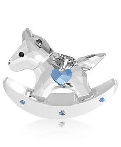 Swarovski Collectible Figurine, Rocking Horse