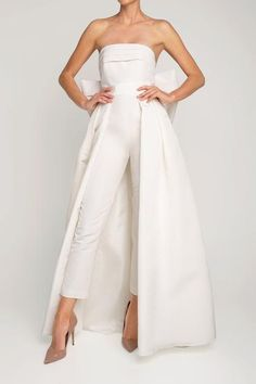 Strapless Dress Formal, Formal Dresses, Wedding Weekend, Fitted Bodice, Mid Length, Pleated Skirt, Convertible, Jumpsuit, Neckline