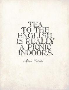 Tea to the English