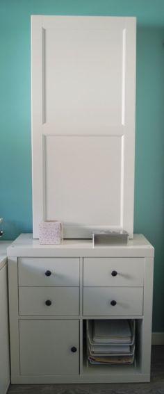 MI LLAVE ALLEN: Un mueble para guardar la tabla de planchar con BESTÅ