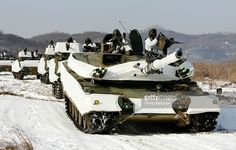 South Korean armed forces take part in winter exercises on January 23, 2008 in YeonCheon, South Korea. The South Korean military perform winter manoeuvres at their border with Stalinist North Korea annually.