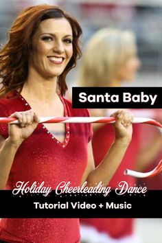 Let's dance! Santa Baby is a classic holiday cheer dance to perform with your team, or in your living room to spread the holiday cheer! Learn this cheerleading routine, and all the cheer move step-by-step in this tutorial video PLUS the music mix is included so you can go full out! Instant access to the video & music download - just $7.